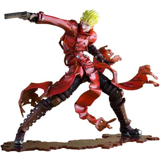 Trigun the Movie Badlands Rumble: ARTFX J Vash the Stampede (Re-run)