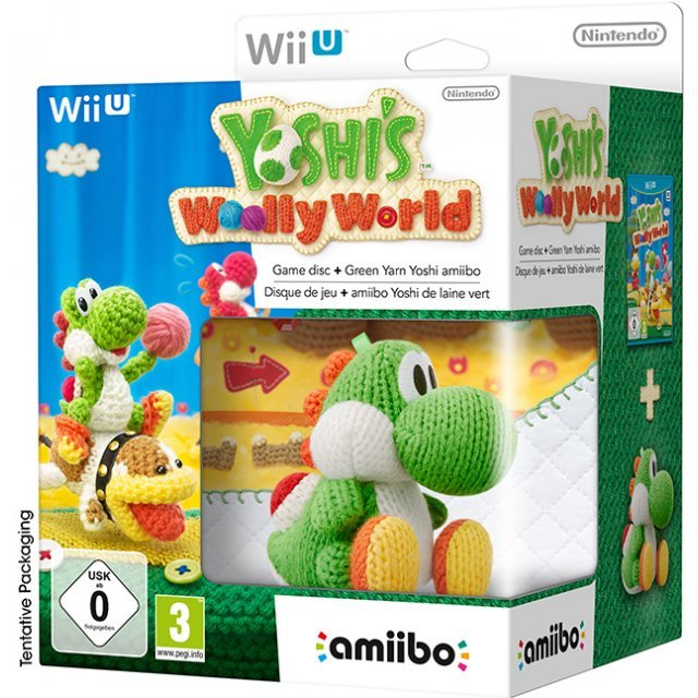 Yoshi's Woolly World with Green Yarn Yoshi amiibo (Special Edition)