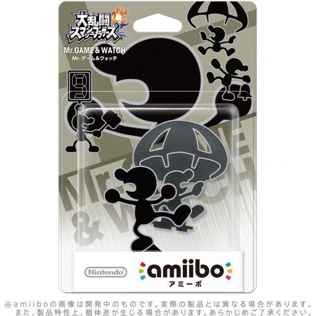 amiibo Super Smash Bros. Series Figure (Mr. Game & Watch)