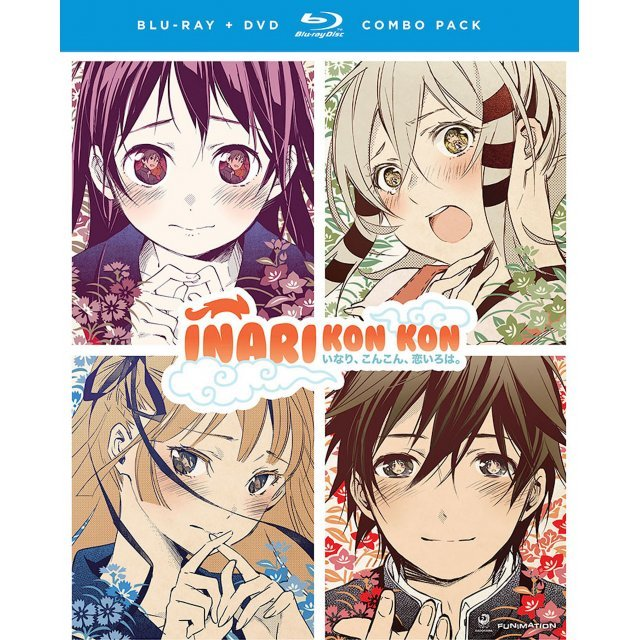 Inari Kon Kon: The Complete Series + OVA - Season 1 [Blu-ray+DVD]