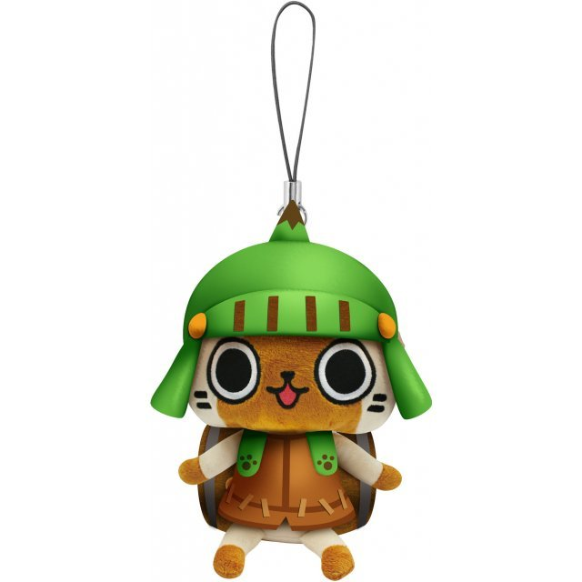 Monster Hunter Otomo Airou Mini Mascot Plush: Dongurineko