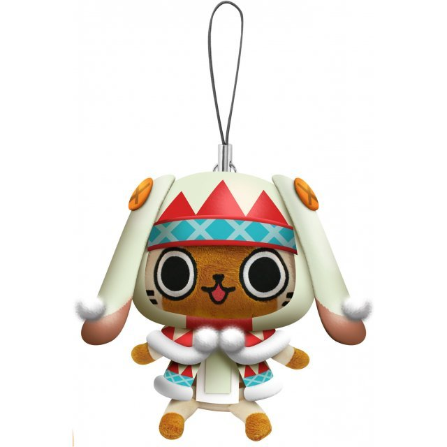Monster Hunter Otomo Airou Mini Mascot Plush: Urukuneko