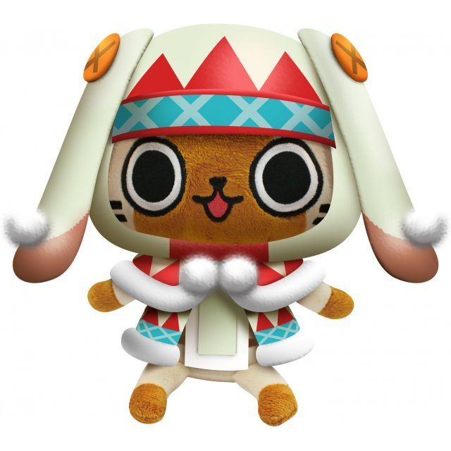 Monster Hunter Otomo Airou Plush: Urukuneko