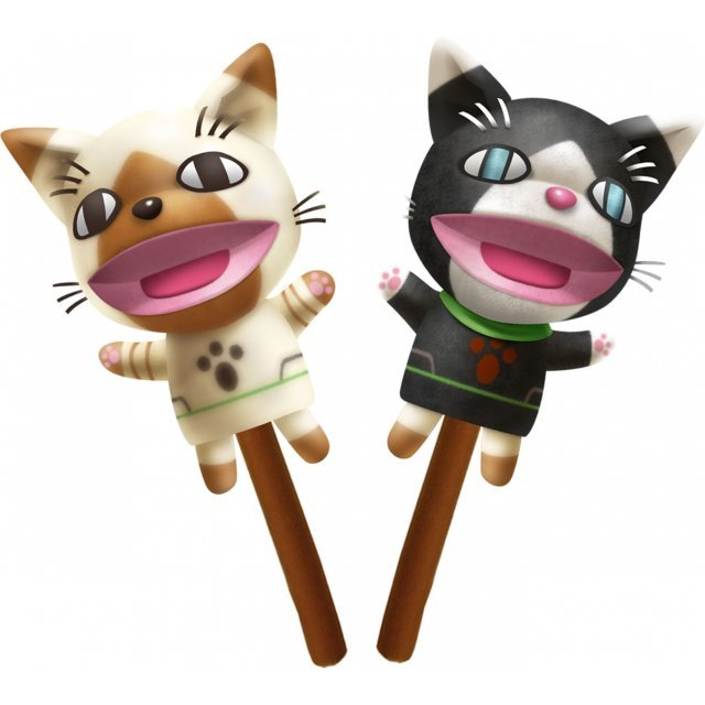 Monster Hunter Weapon Plush: Airou-kun & Melaleu-kun