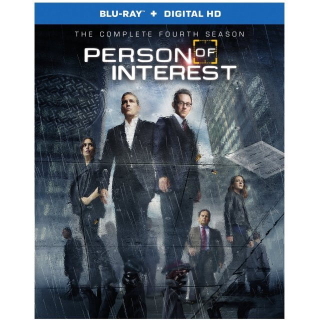 Person of Interest: The Complete Fourth Season [Blu-ray+Digital Copy]