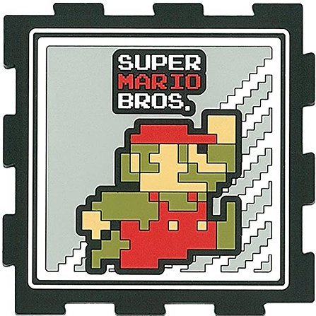 Super Mario Bros. Rubber Coaster A (Mario)
