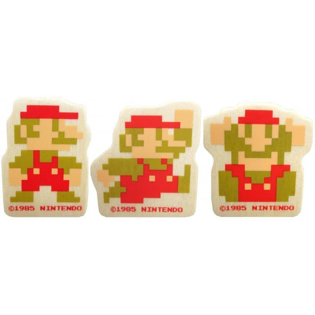 Super Mario Bros. Wooden Die-cut Clip A (Mario Set)
