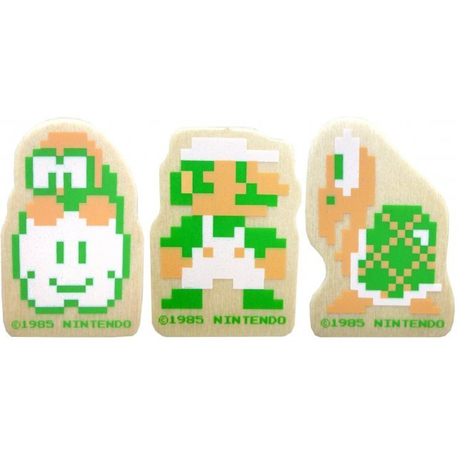 Super Mario Bros. Wooden Die-cut Clip B (Luigi Set)