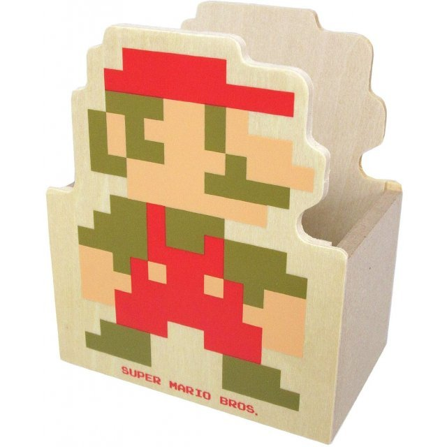 Super Mario Bros. Wooden Die-cut Glove Compartment A (Mario)