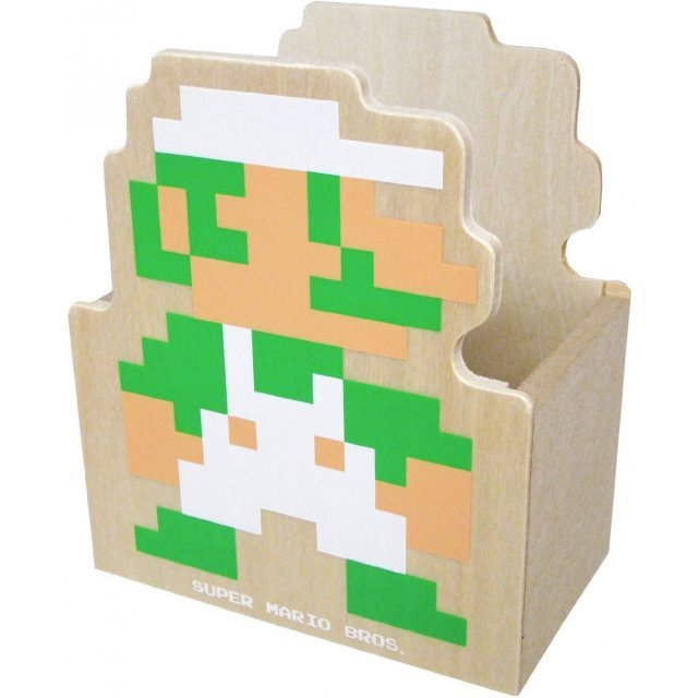 Super Mario Bros. Wooden Die-cut Glove Compartment B (Luigi)