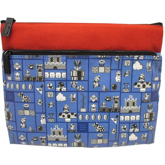 Super Mario Two-stage Flat Pouch B (Stage)
