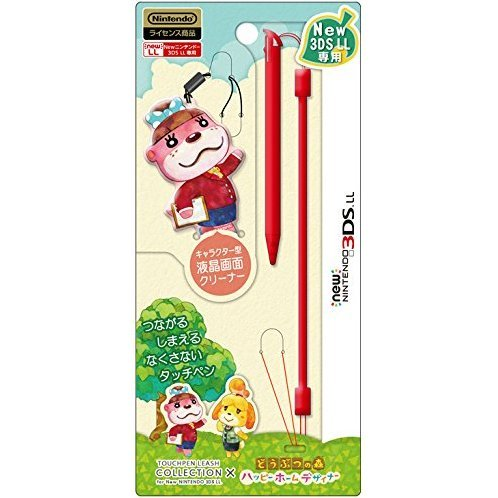 Touch Pen Leash Collection for New 3DS LL (Animal Crossing Type A)