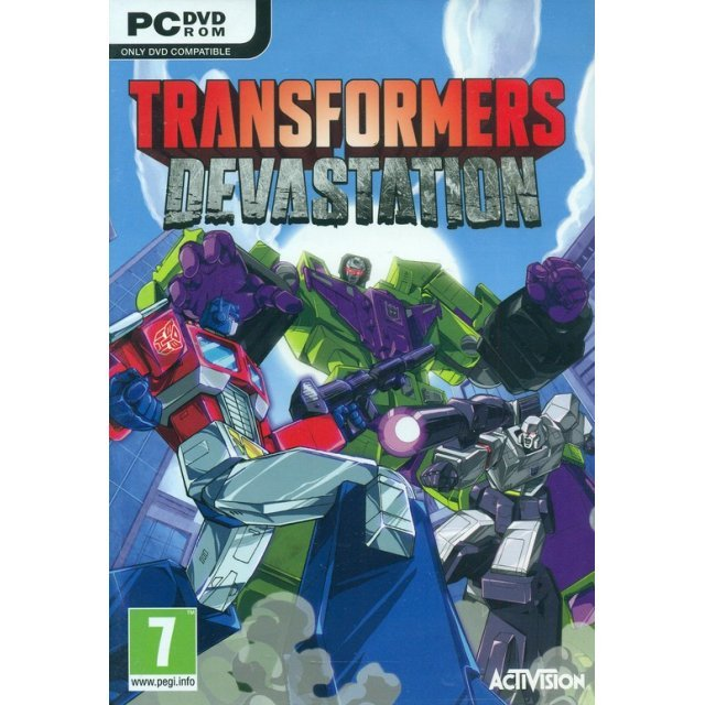 Transformers: Devastation (DVD-ROM)