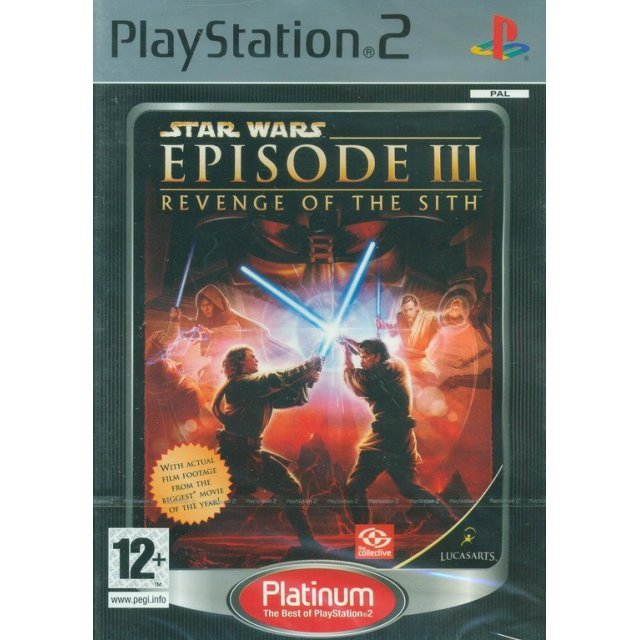 Star Wars Episode III: Revenge of the Sith (Platinum)