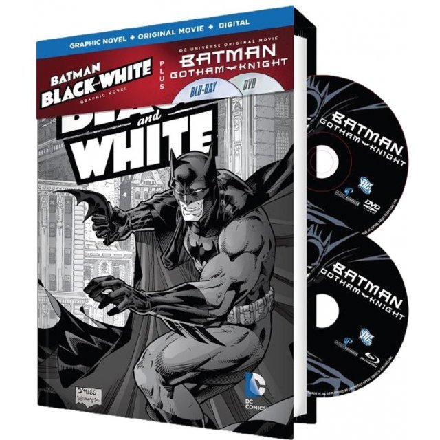 Batman: Gotham Knight / Black & White Graphic Novel [Graphic Novel+Original Movie+Digital HD]
