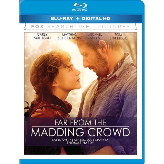 Far From the Madding Crowd [Blu-ray+Digital Copy]