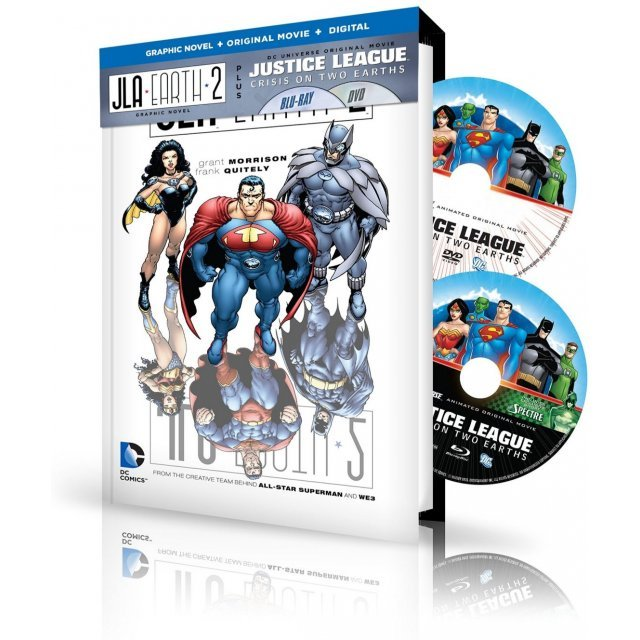 Justice League: Crisis on Two Earths / JL Adventures Graphic Novel [Graphic Novel+Original Movie+Digital HD]