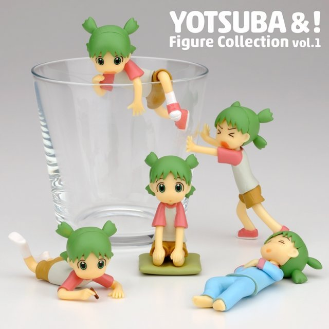 Yotsuba&! Figure Collection Vol.1 (Set of 10 pieces)