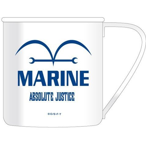 One Piece Stainless Mug Cup: Marine (Re-run)