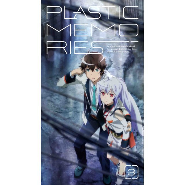 Plastic Memories Vol.3  [DVD+CD Limited Edition]