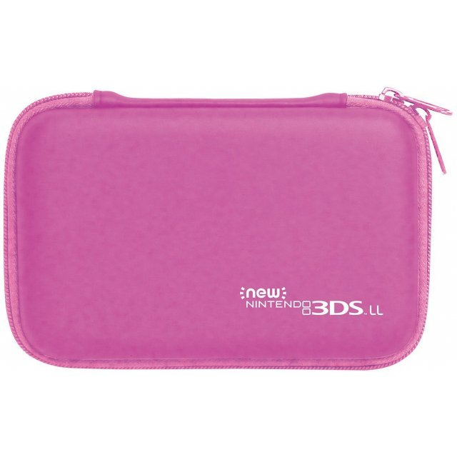 Slim Hard Pouch for New 3DS LL (Pink)