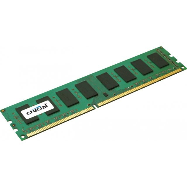 Crucial DIMM 4GB, DDR3-1600, CL11