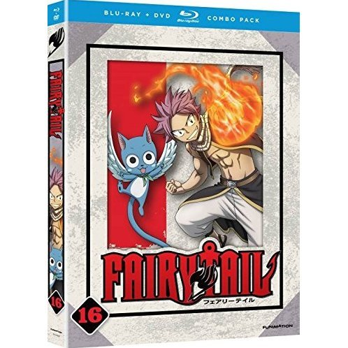 Fairy Tail: Part 16 [Blu-ray+DVD]