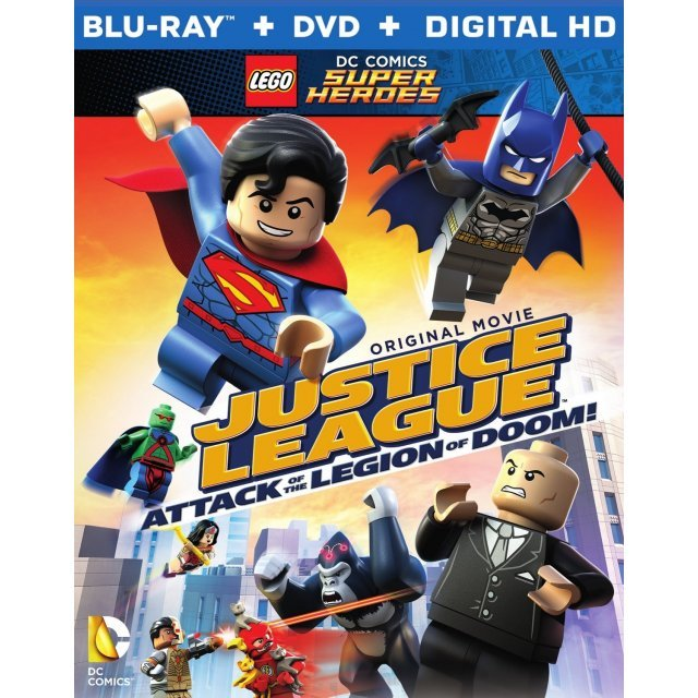 Lego DC Super Heroes: Justice League - Attack of the Legion of Doom (with Figurine)