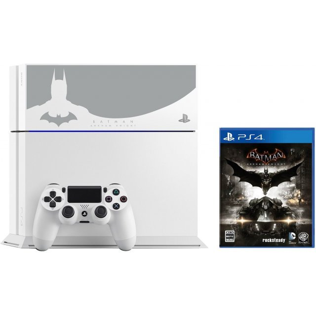 PlayStation 4 System [Batman Arkham Knight Edition] (Glacier White)