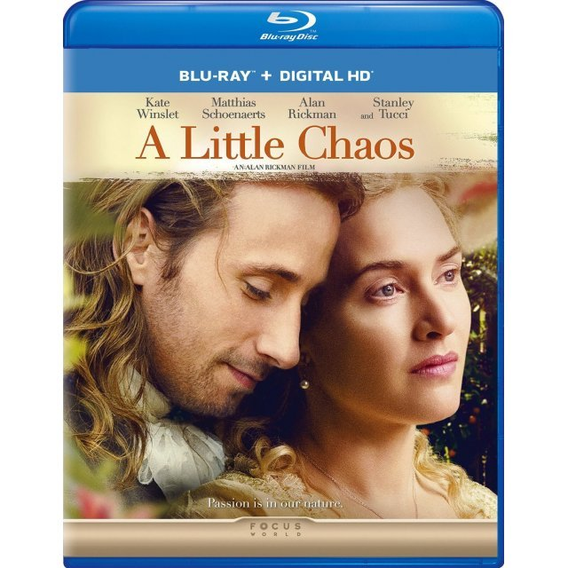 A Little Chaos [Blu-ray+Digital HD]