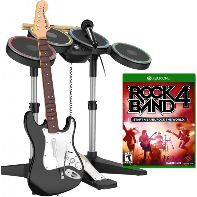 Rock Band 4 (Band-in-a-Box Bundle)