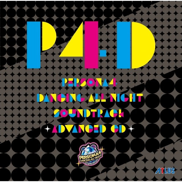 Persona 4 Dancing All Night Original Soundtrack - Advanced Cd