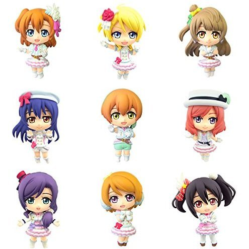 Color Collection DX Love Live! Vol. 2 (Set of 9 pieces)