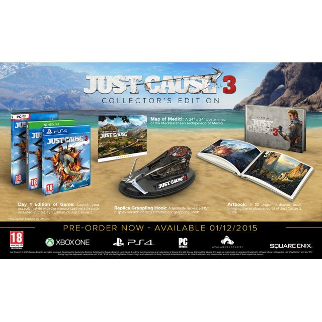 Just Cause 3 (Collector's Edition) (DVD-ROM)
