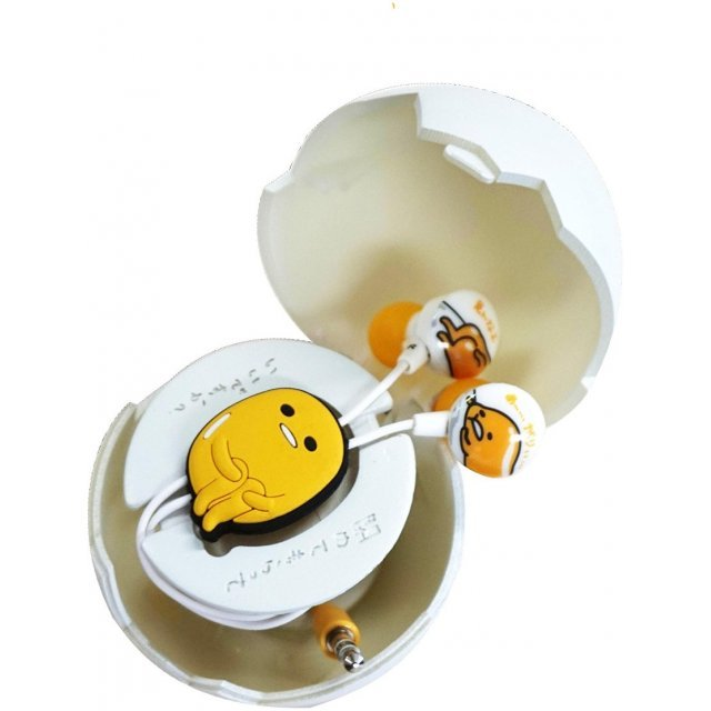 gourmandise Gudetama Earphones with Egg Case