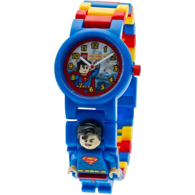 Lego DC Super Heroes Minifigure Link Watch: Superman