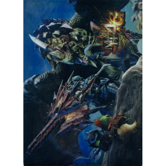 Monster Hunter 4G A4 Clear File