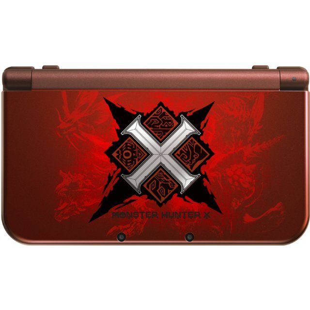 New Nintendo 3DS LL [Monster Hunter Cross Special Pack]