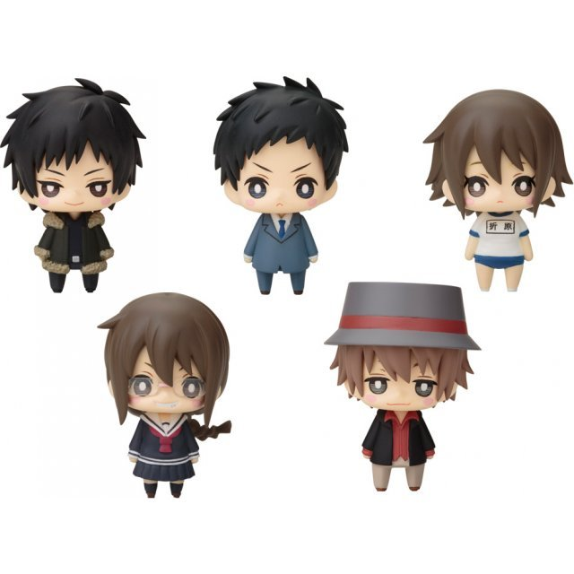 One Coin Mini Figure Collection: Durarara!!x2 Post 1 (Set of 6 pieces)