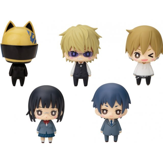 One Coin Mini Figure Collection: Durarara!!x2 Post 2 (Set of 6 pieces)