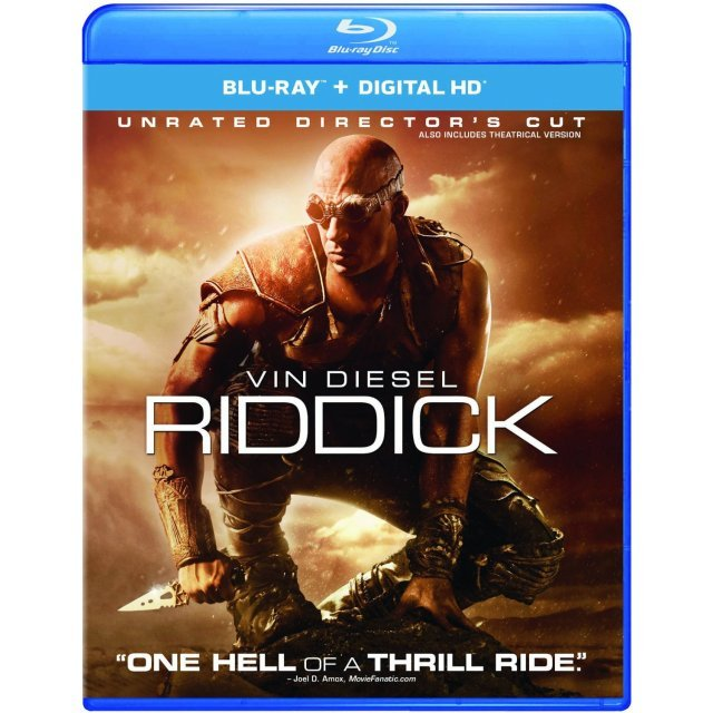 Riddick (Unrated Director's Cut) [Blu-ray+Digital HD]