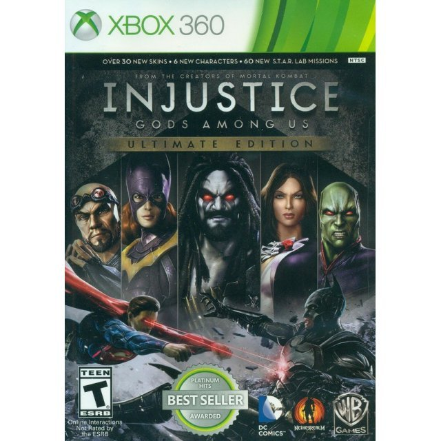 Injustice: Gods Among Us - Ultimate Edition (Platinum Hits)