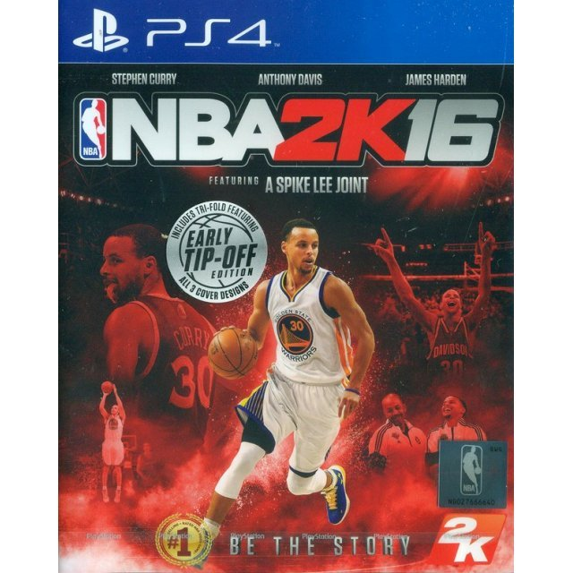 NBA 2K16 (English & Chinese Sub)