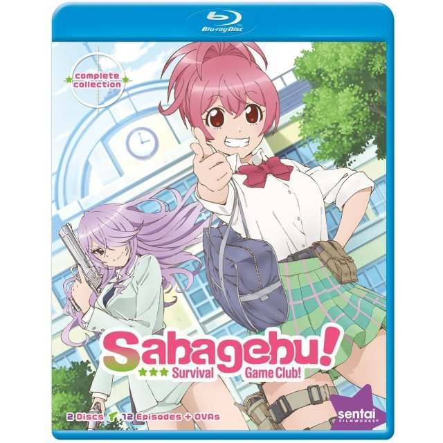 Sabagebu! - Survival Game Club! -Season 1 Complete Collection