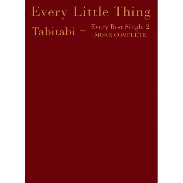 Tabitabi + Every Best Single 2 - More Complete [6CD+2DVD+2Blu-ray Limited Edition]