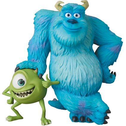 Ultra Detail Figure Pixar: Sulley & Mike