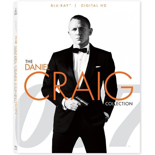 007: The Daniel Craig Collection [Blu-ray+Digital Copy]