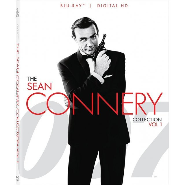007: The Sean Connery Collection Vol. 1 [Blu-ray+Digital Copy]