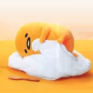 Gudetama Big Plush: Nesoberi (B)