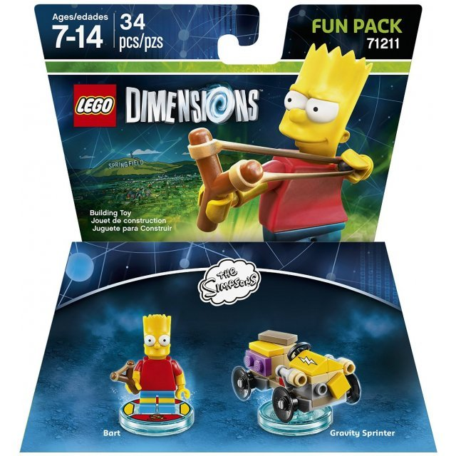 LEGO Dimensions Fun Pack: The Simpsons Bart